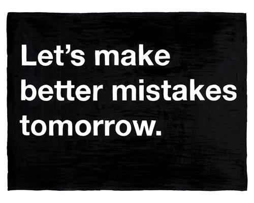 Mistakes Mean Growth