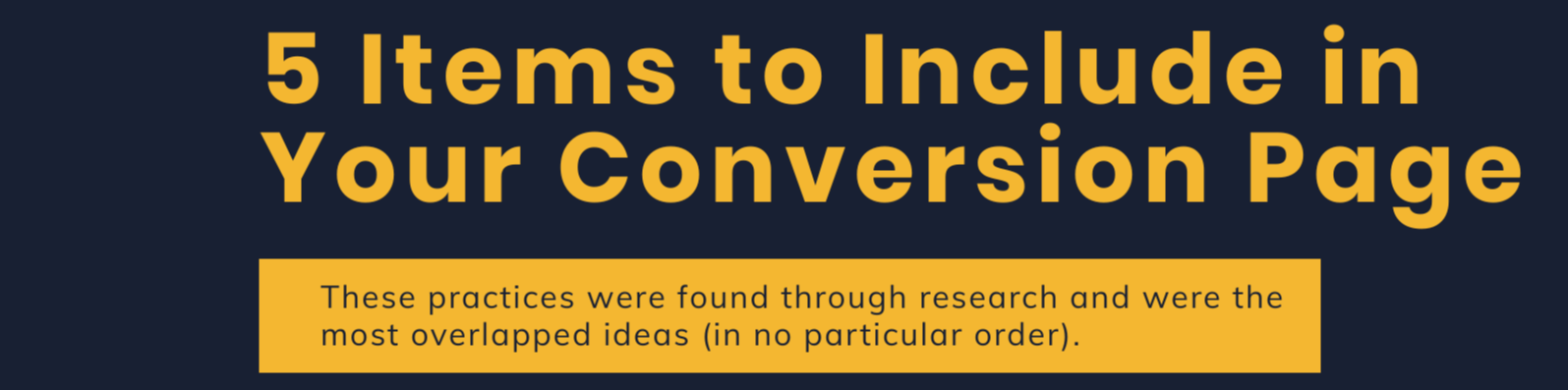 Conversion Page Infographic-1-1-1