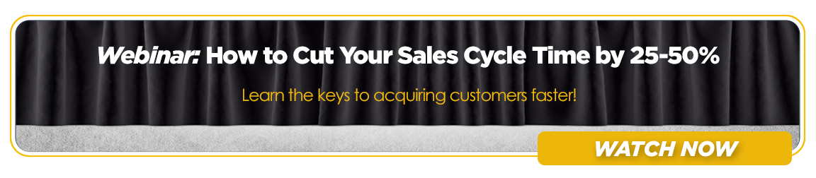 How to Cut Your Sales Cycle Time in Half